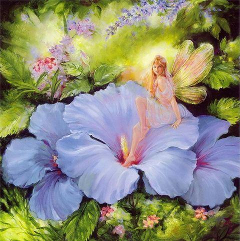 Фото цветов и эльфов