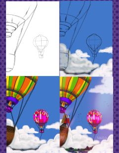 balloon #drawing #drawstepbystep pencil art