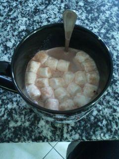 photography autumn hot chocolate marshmallow