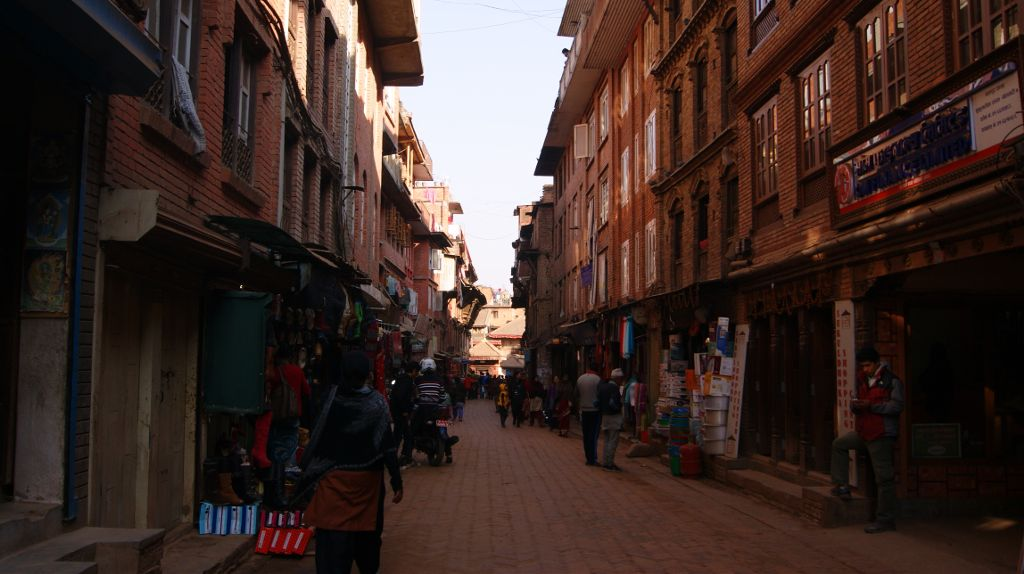 Thamel District of Kathmandu