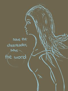 people quotes & sayings heroes cheerleader tv show drawing