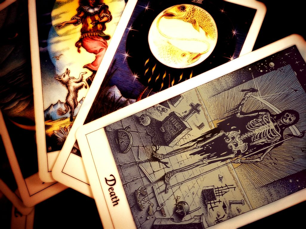 'the death of one thing leads to the start of something new' :)  #tarot  #cards  #death