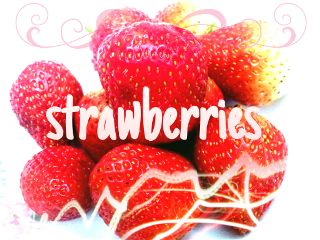 cute food love strawberry yummy fruit