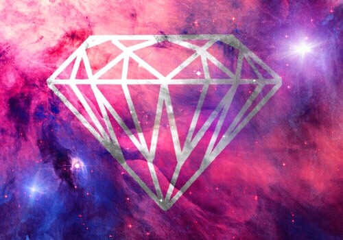Hipster Diamond Galaxy Perfection