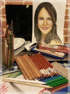color splash colorful drawing pencil art