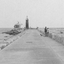 photography black & white old photo beach summer vintage