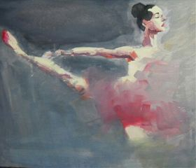 painting canvas photography ballet