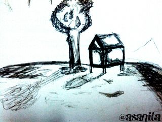 black & white emotions pencil art photography