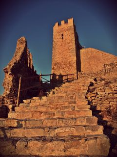 castle old spain mediterranean
