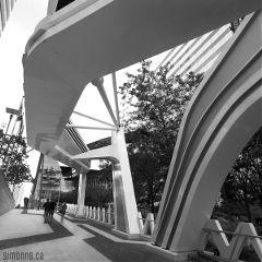 architecture design city toronto black & white