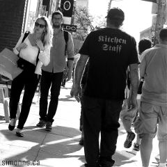 love summer black & white streets people